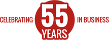 Celebrating 55 Years in Business!