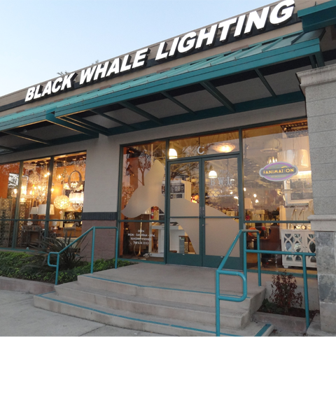Black whale lighting