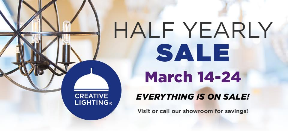 Half Yearly Sale!