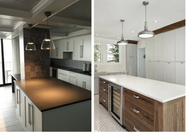 Light Up Your Kitchen Island with LED Pendants