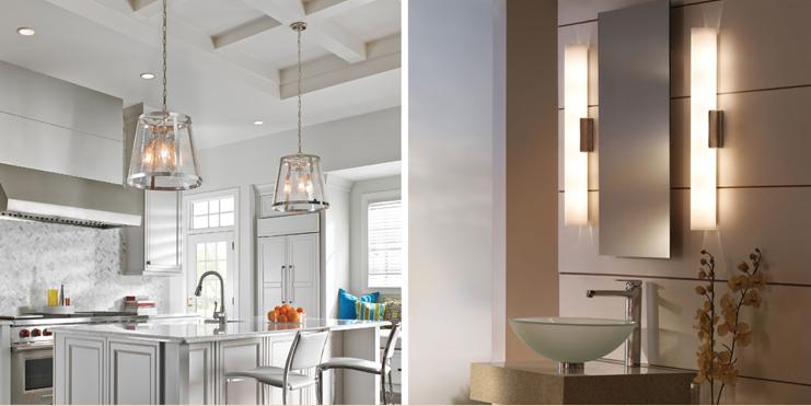 New lighting fixtures Updated Kitchen Brighten Up Your Home In Skokie With New Lighting Fixtures Hgtvcom Home Lighting Fixtures At Idlewood