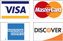 We accept the 4 major credit cards