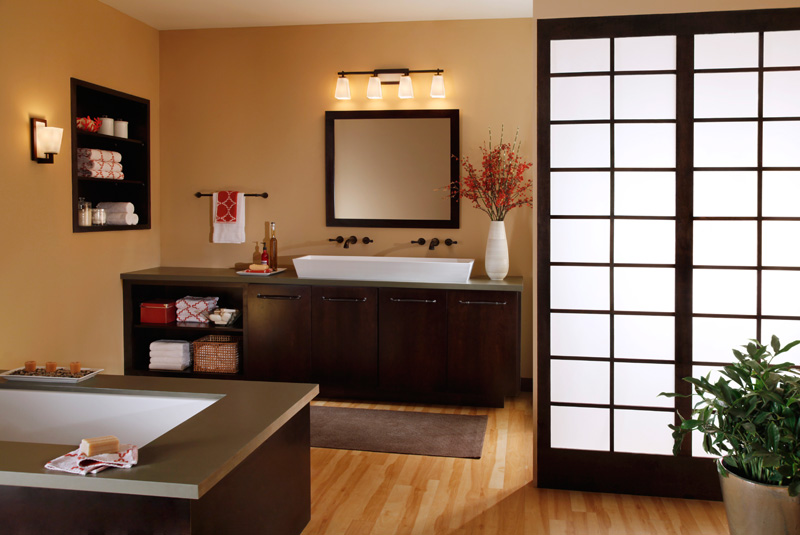 Lyons Lighting - Murray feiss bathroom lighting fixtures