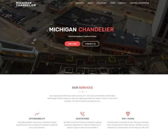 Michigan chandelier company aloadofball Choice Image