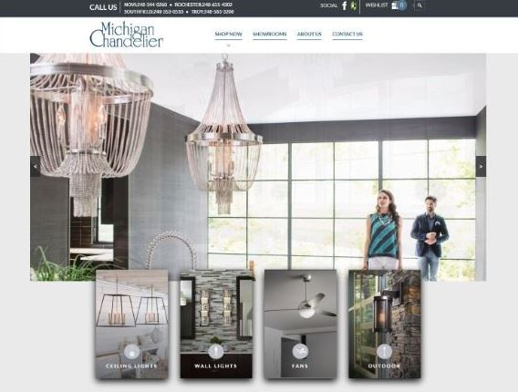 Michigan chandelier company lighting showroom aloadofball Choice Image
