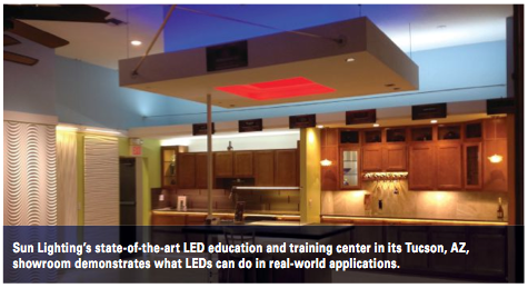 In our showroom we carry everything from LED pendants to color- changing tape light  says Craig Frank General Manager of Lighting Unlimited ... & Sun Lighting azcodes.com