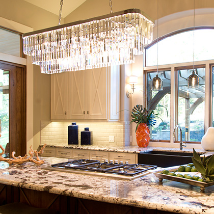 Kitchen Island Lighting In Naples Fl Bonita Springs Overland Park
